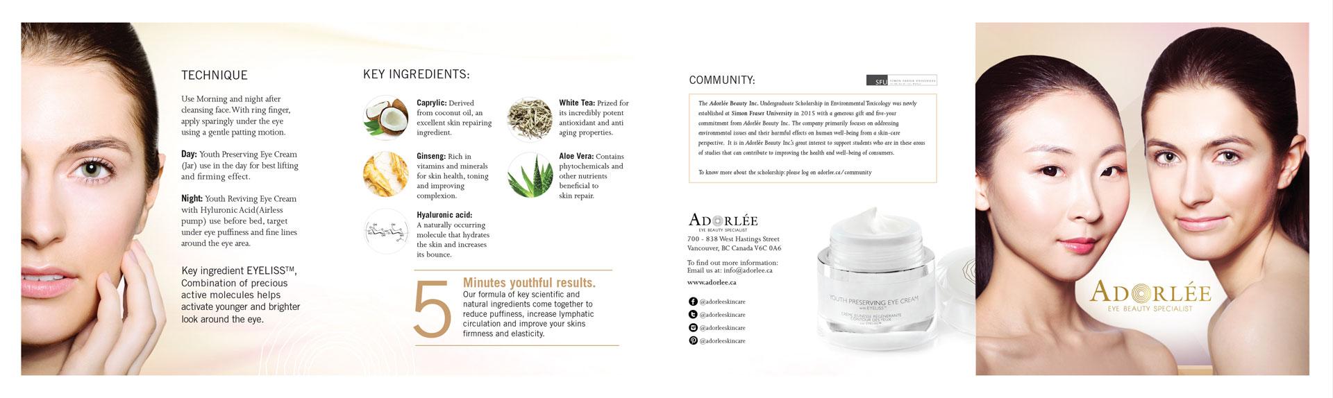 Adorlee Print Material Visual Design