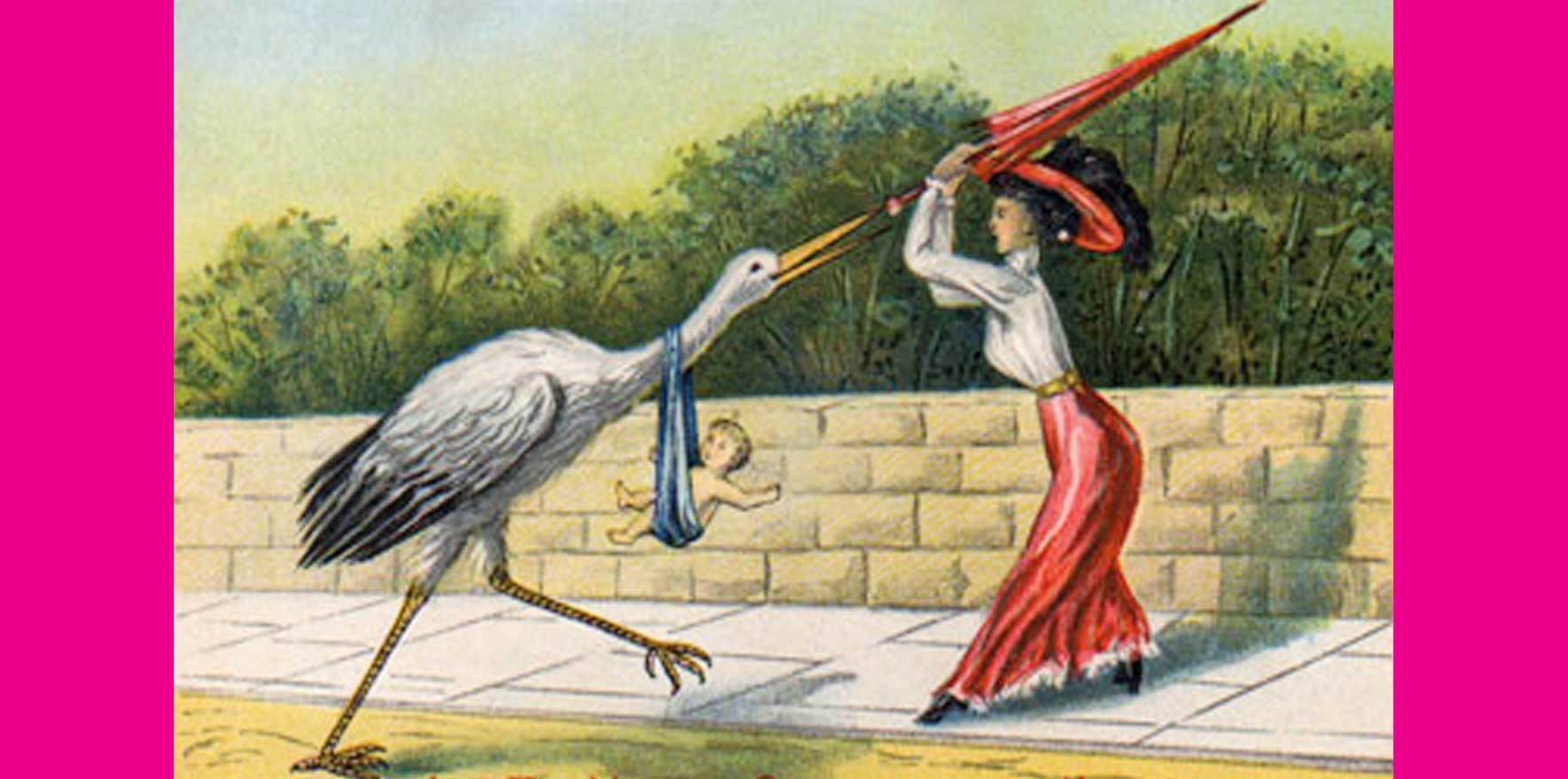 The Stork Delivers: Marketing Strategies at their Finest