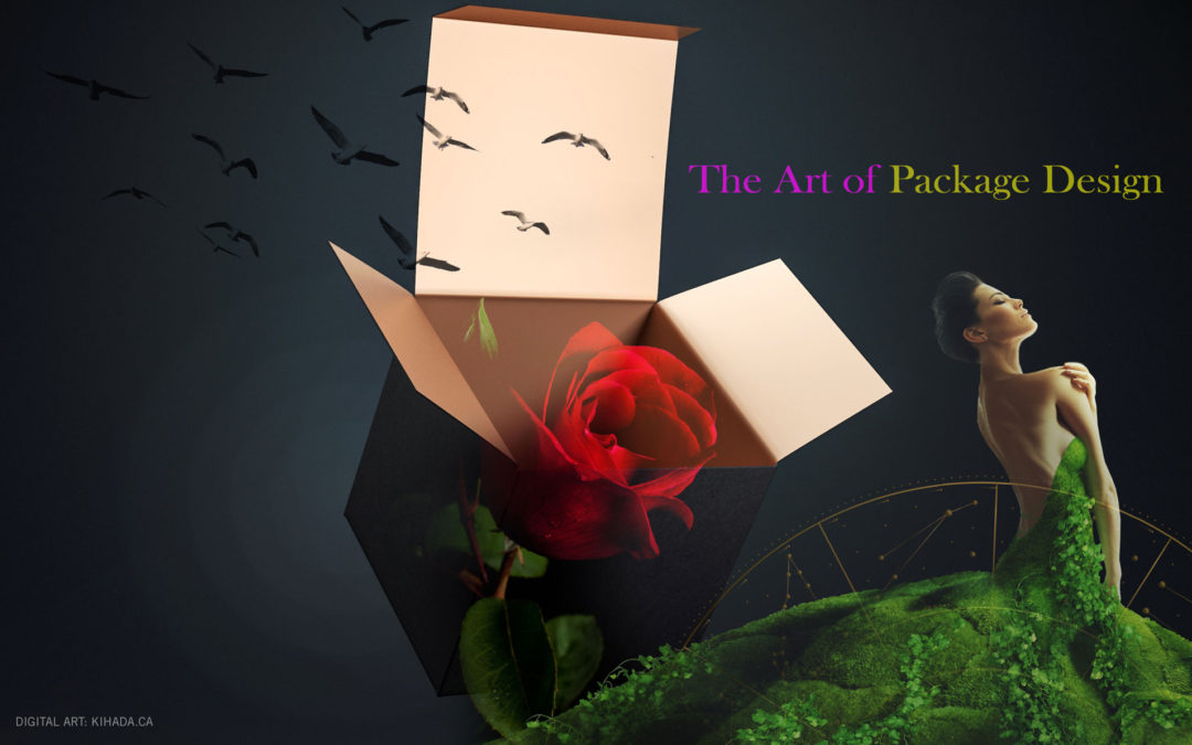 Making your first great impression with package design