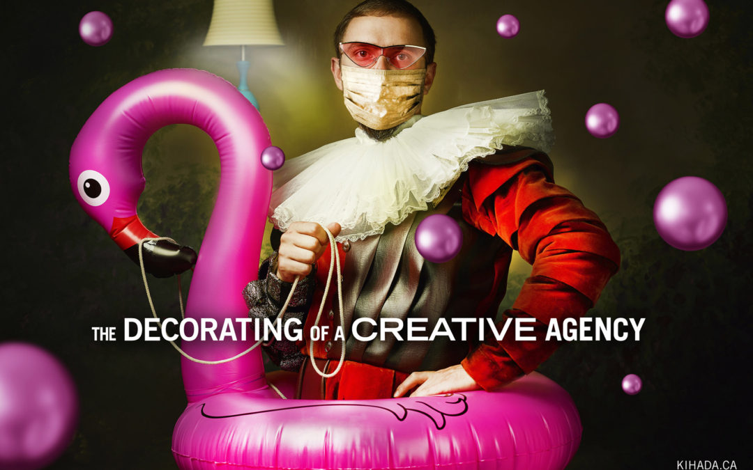 The Decorating of a Creative Agency