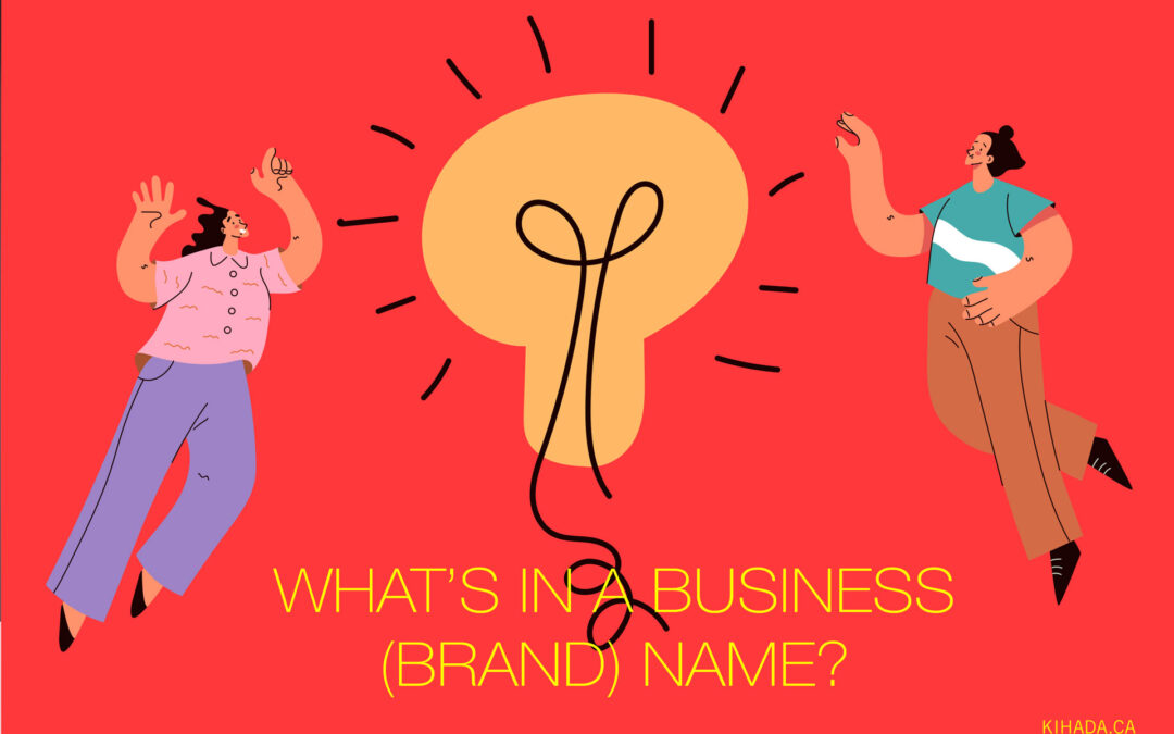 What's in a business brand name?
